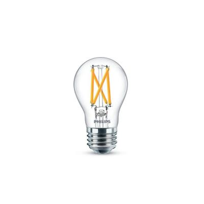 60-Watt Equivalent Daylight A15 Dimmable LED Light Bulb (2-Pack)