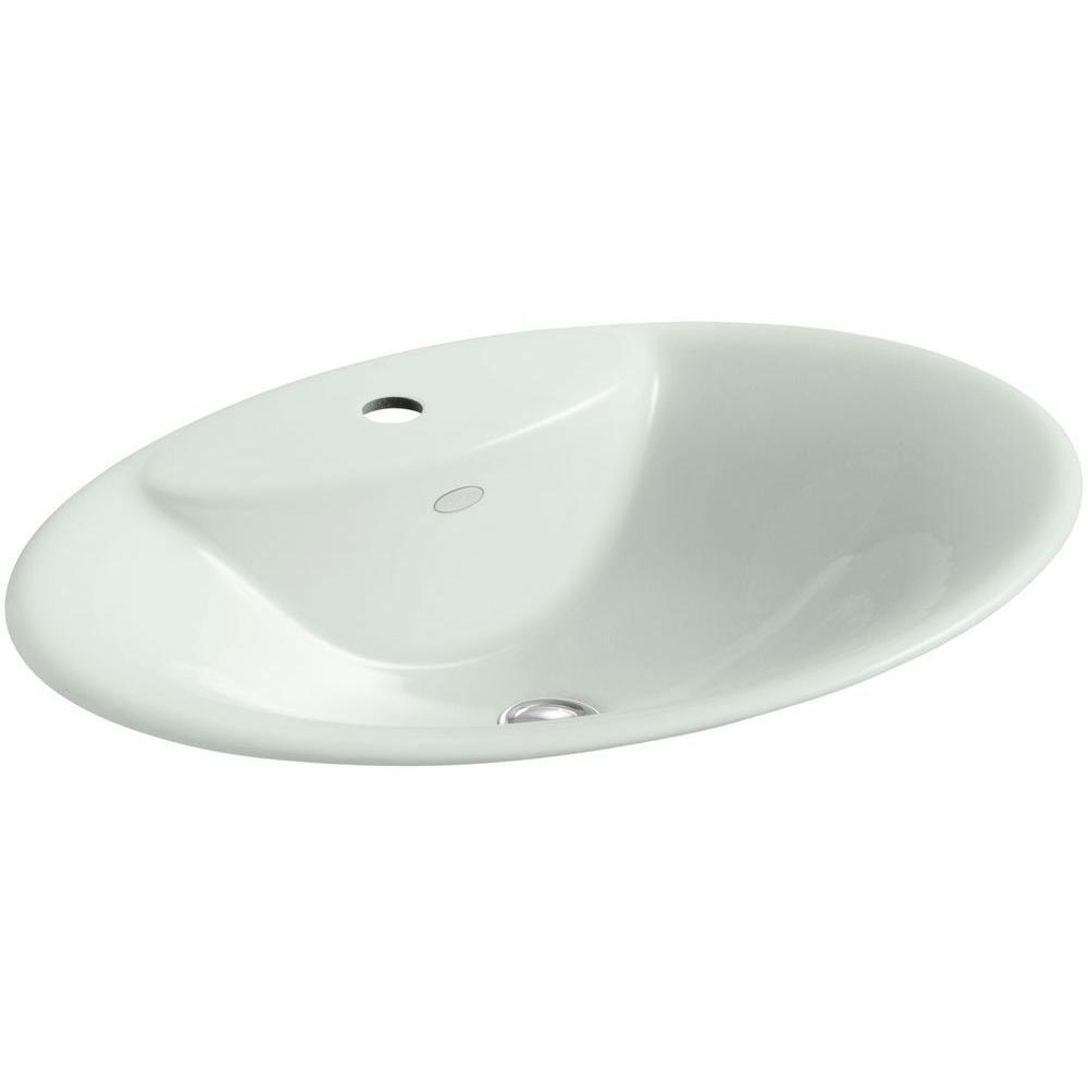 kohler maratea dropin cast metal bathroom sink in sea salt. kohler maratea dropin cast metal bathroom sink in sea saltk