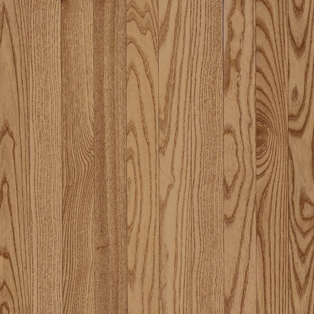 Bruce Solid Oak Natural Hardwood Flooring - 5 in. x 7 in. Take Home Sample