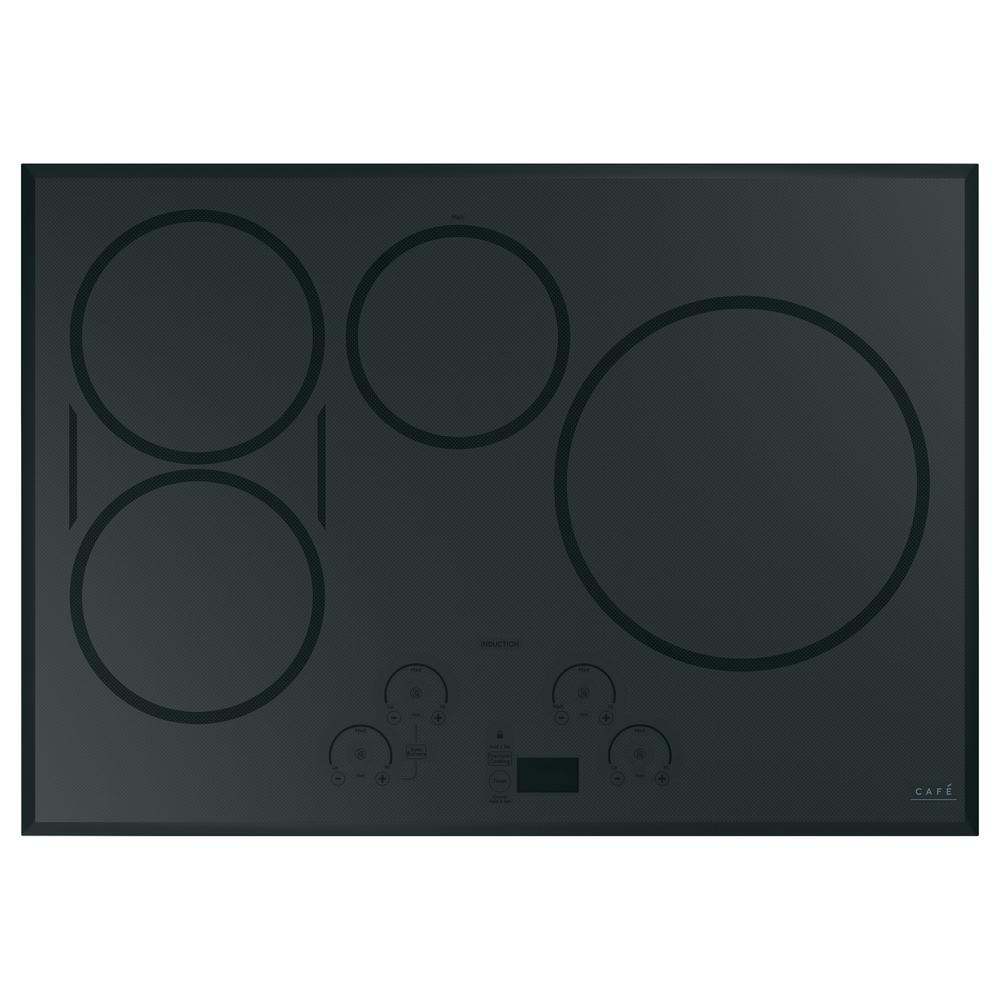 Cafe 30 in. Smart Induction Cooktop in Stainless Steel with 5 Elements including Sync-Burners