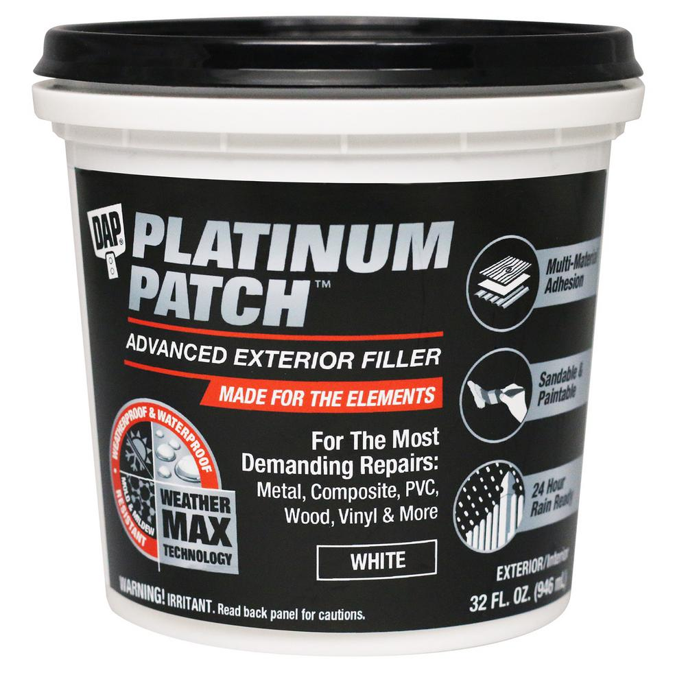 Platinum Patch 32 oz. Advanced Exterior Spackling Paste (8-Pack)