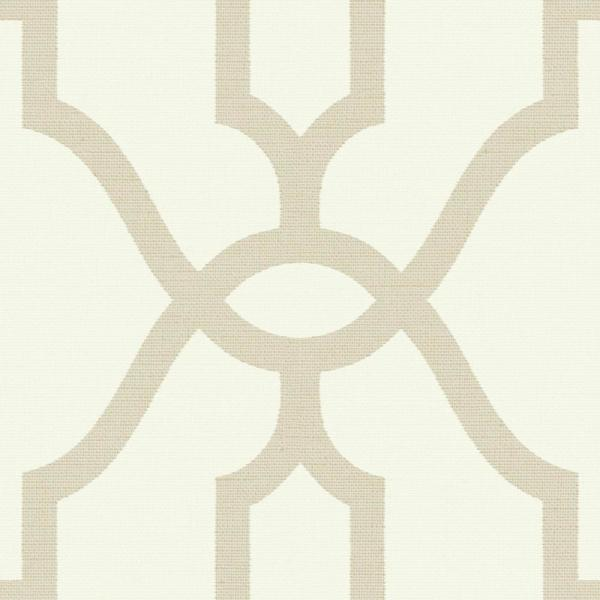Magnolia Home by Joanna Gaines 56 sq.ft. Woven Trellis Wallpaper ME1554