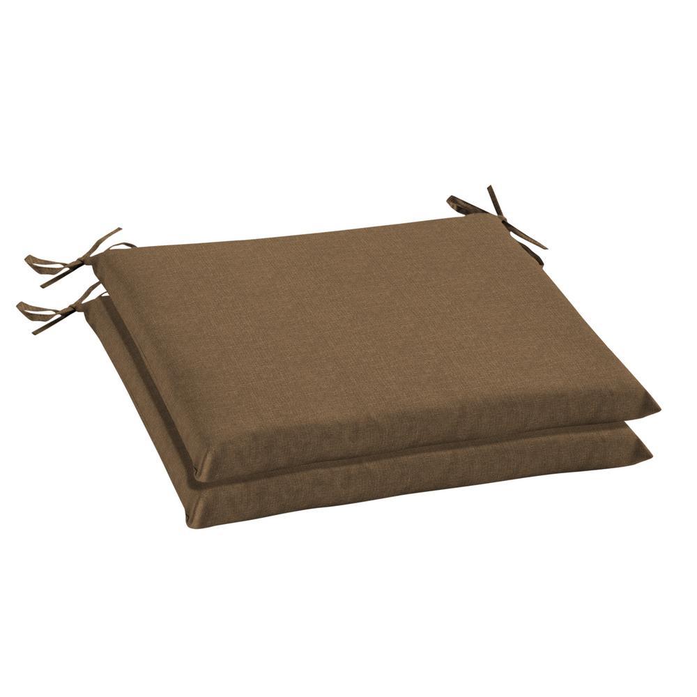 Oak Cliff 20 x 18 Sunbrella Cast Teak Outdoor Chair Cushion (2-Pack)