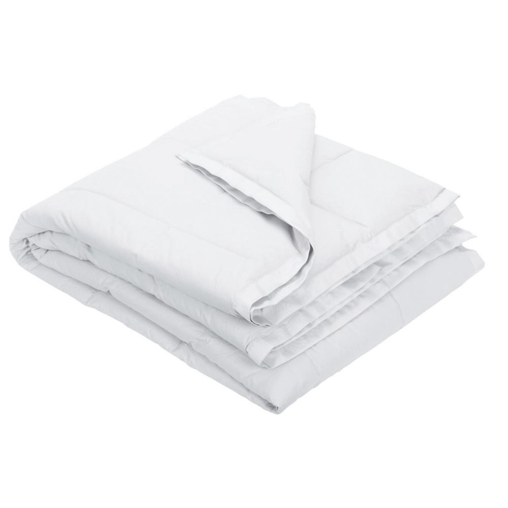 LaCrosse Down White Cotton King Blanket