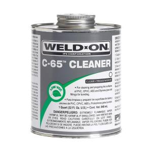 Weld-On 32 oz. PVC/ABS/CPVC C-65 Cleaner in Clear by Weld-On