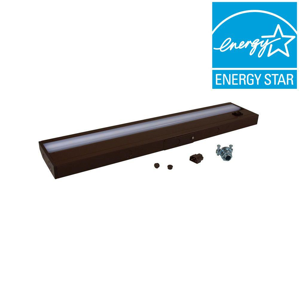 Irradiant 18 in. LED Dark Bronze Under Cabinet Light