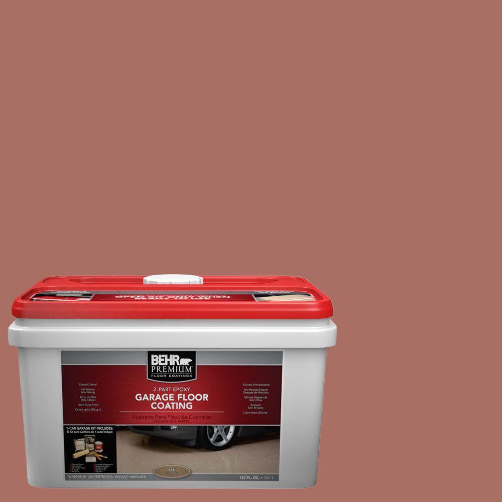 BEHR Premium 1-gal. #PFC-08 Terra Brick 2-Part Epoxy Garage Floor Coating Kit