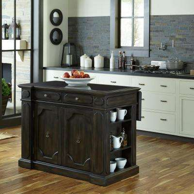 Kitchen Islands - Carts, Islands & Utility Tables - The Home Depot on microwave kitchen remodel with island stove, microwave under island, microwave kitchen shelving, microwave over the island cabinets,