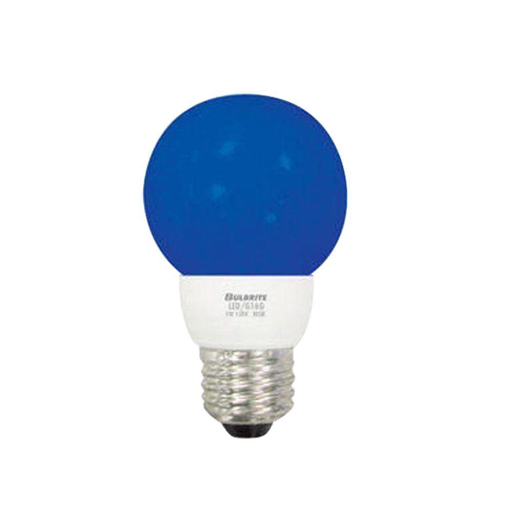Bulbrite 1W Equivalent Bright White (2700K) GC16.5 LED Light Bulb (5-Pack)