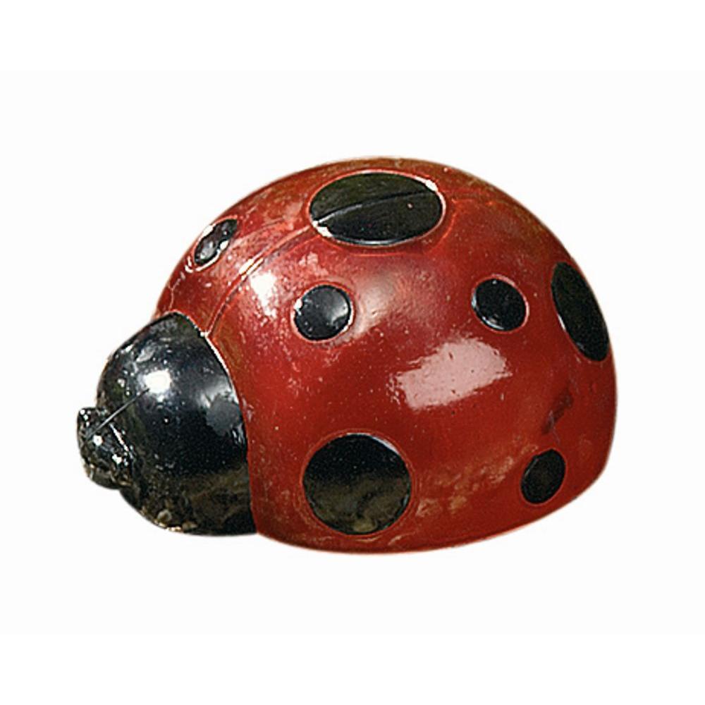 4-Light LED Red Ladybug Light Set