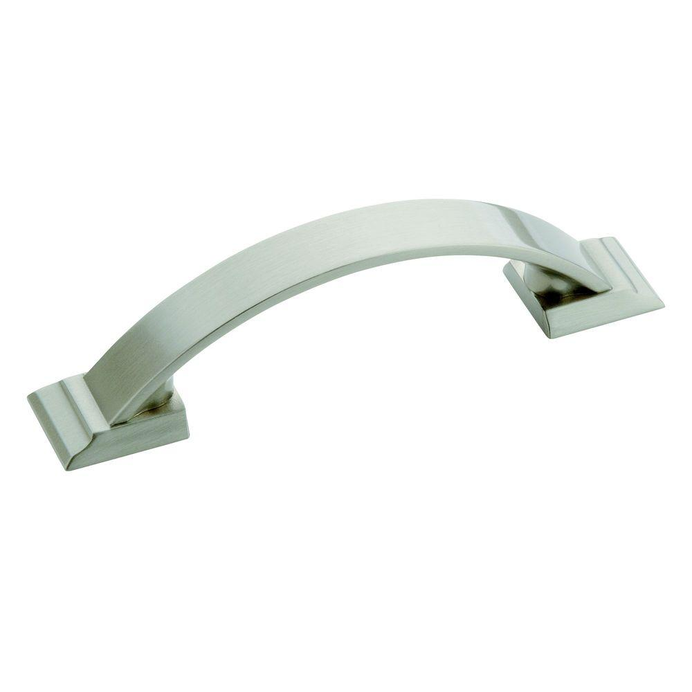 Candler 3 in. (76 mm) Satin Nickel Cabinet Pull