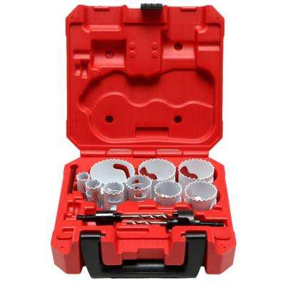 13-Piece General-Purpose Hole Dozer Hole Saw Kit
