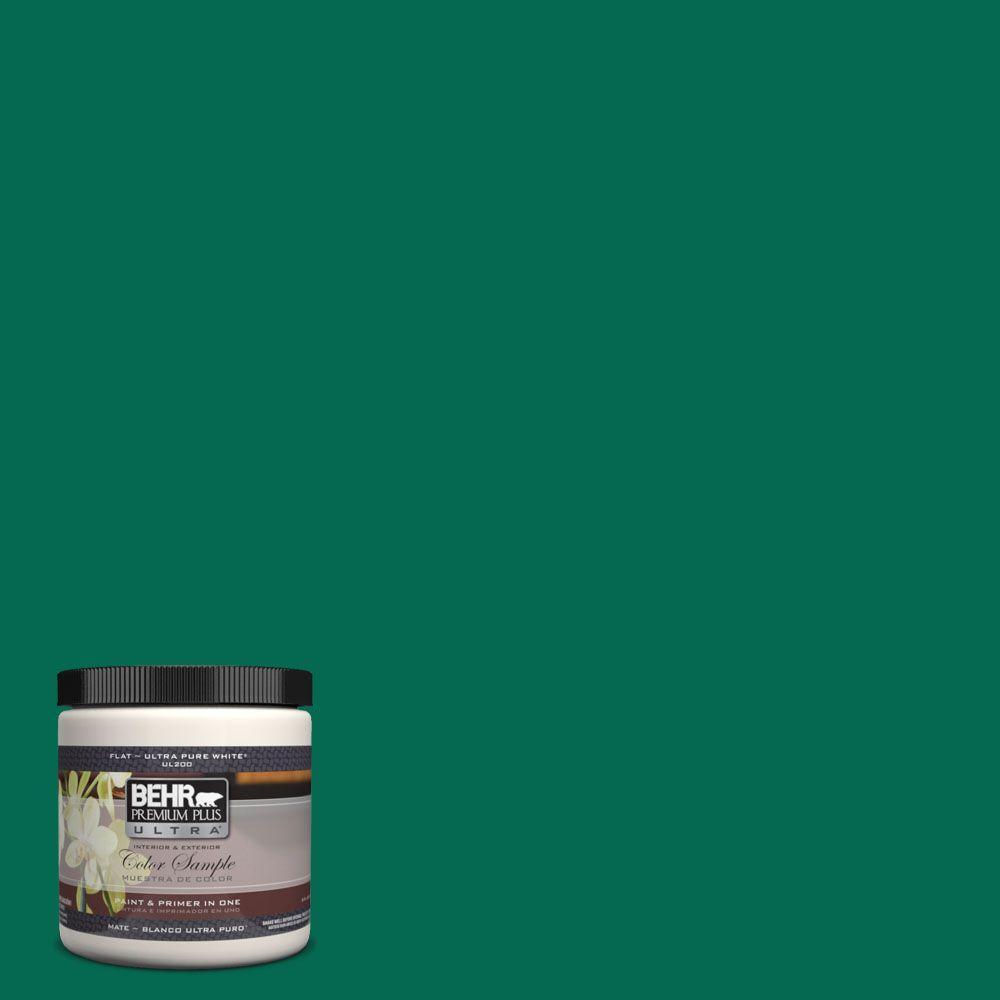 BEHR Premium Plus Ultra 8 oz. #480B-7 Clover Brook Interior/Exterior Paint Sample