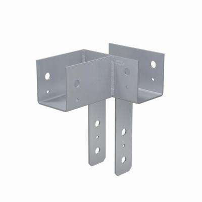 ECCLL L-Shape End Column Cap for 4x Beam, 4x Post, 4x Beam, Skewed Left