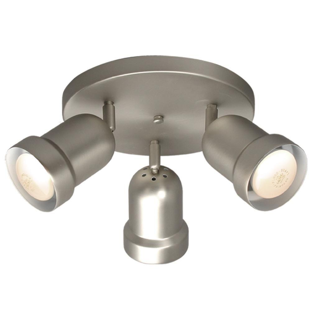 Filament Design Negron 3 Light Pewter Track Head Spotlight With Directional Heads Cli Xy5156984