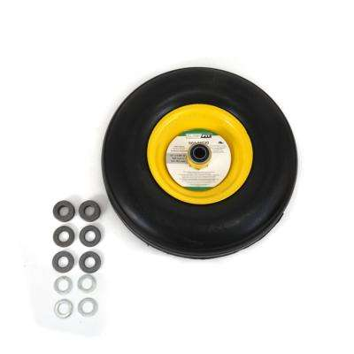 Flat Free RZT Wheel Assembly for John Deere Tractors M155749 and AM136788