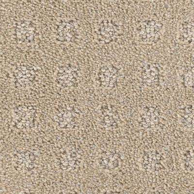 Drafting- Color Route Pattern 12 ft. Carpet