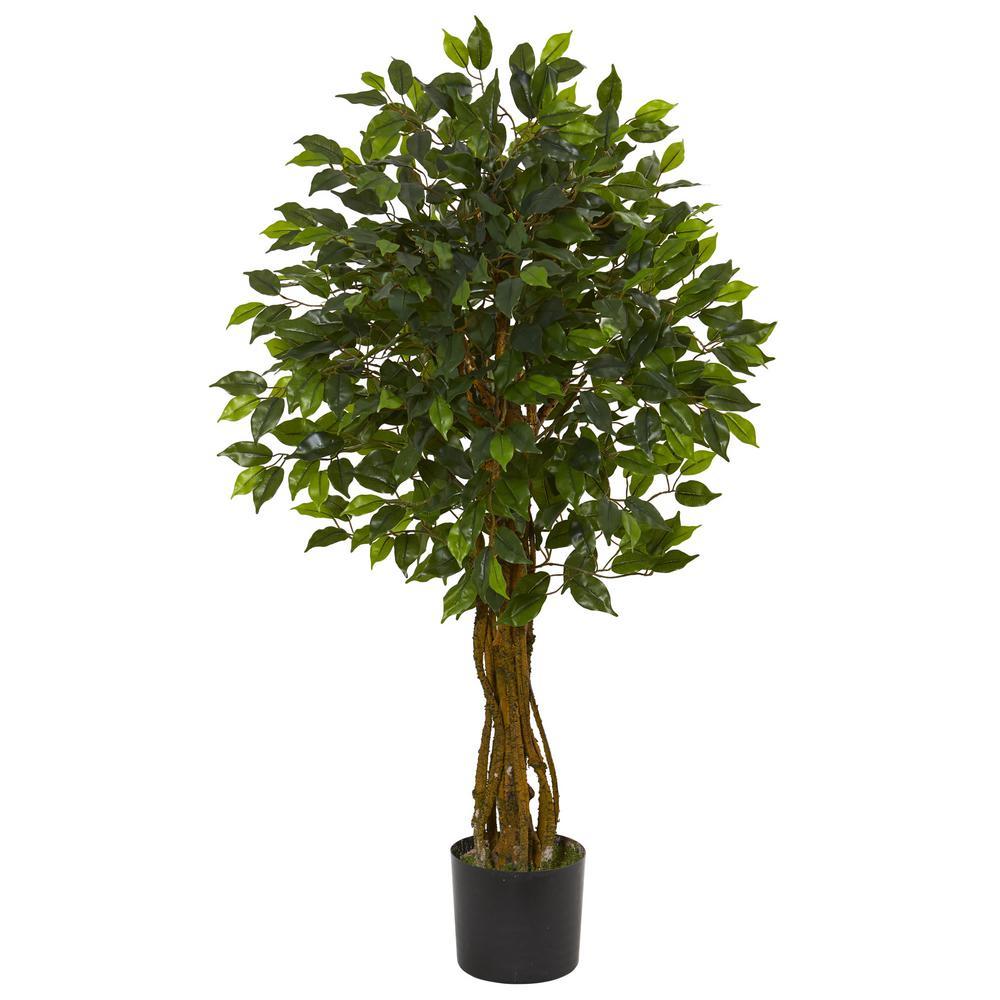 UV Resistant Indoor/Outdoor Ficus Artificial Tree