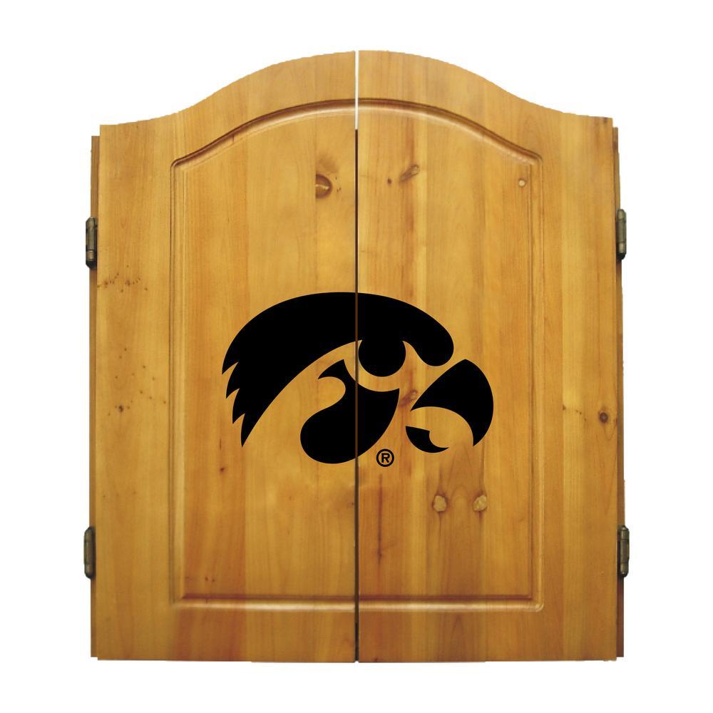 University of Iowa Dart Cabinet