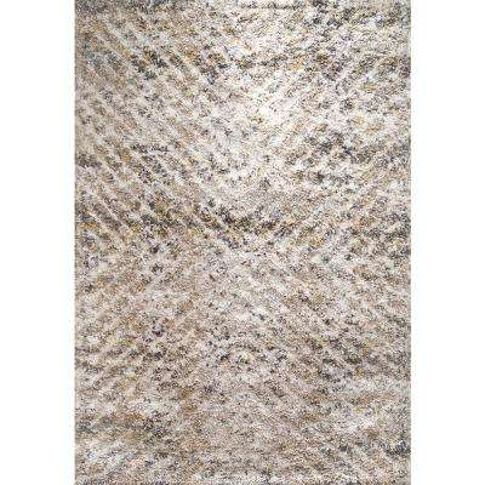 Aura Grey/Ivory 5 ft. 3 in. x 7 ft. 7 in. Indoor Area Rug