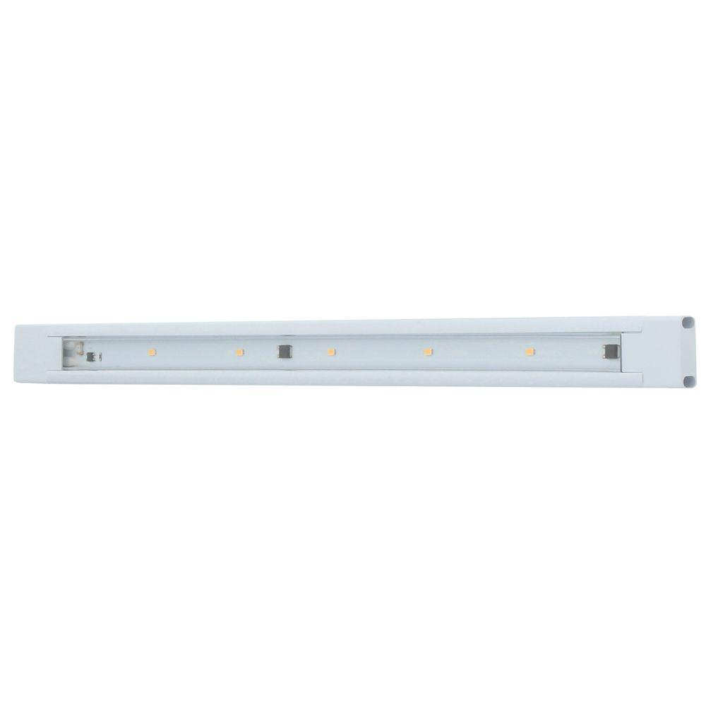 GE 18 in. LED White Under Cabinet Light-12689 - The Home Depot