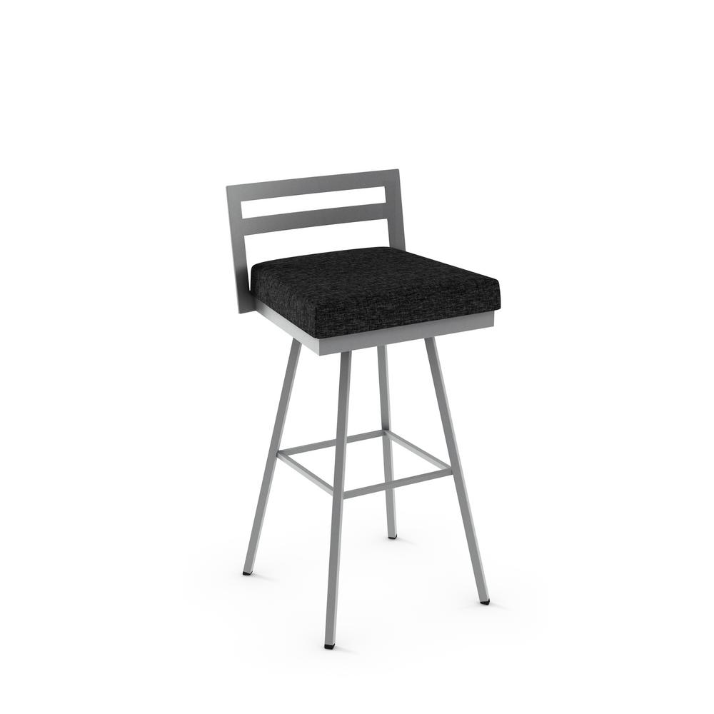Amisco Hopkins 26 In Polyester Swivel Counter Stool