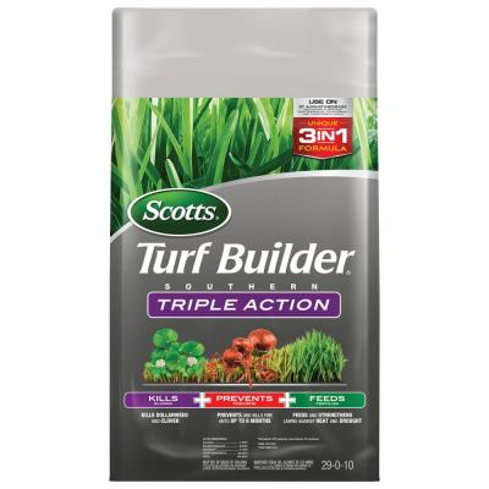 Turf Builder 26.84 lb. 8,000 sq. ft. Triple Action Southern Lawn Fertilizer