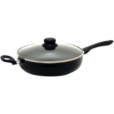 Starbasix 11 in. Deep Fry Pan with Lid