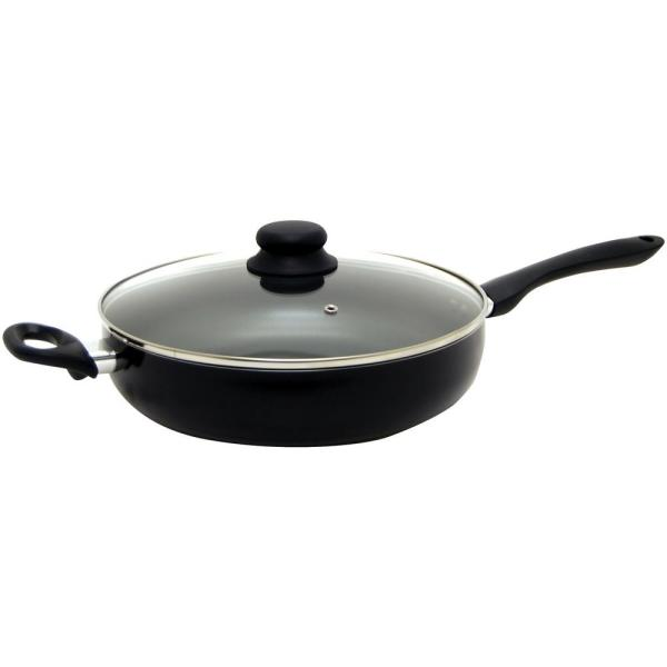 Starfrit Starbasix 11 in. Deep Fry Pan with Lid