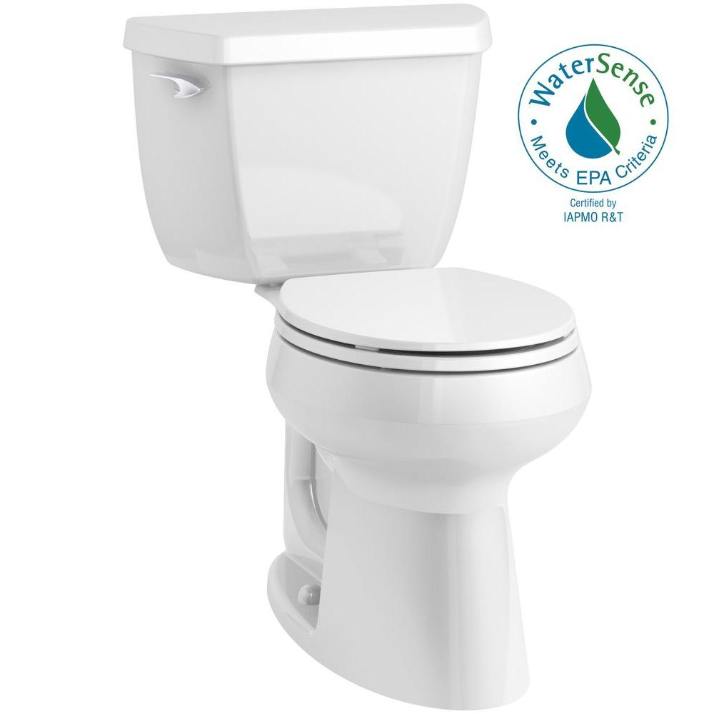 Kohler Highline Clic Complete Solution 2 Piece 1 28 Gpf Single Flush Comfort Height Round