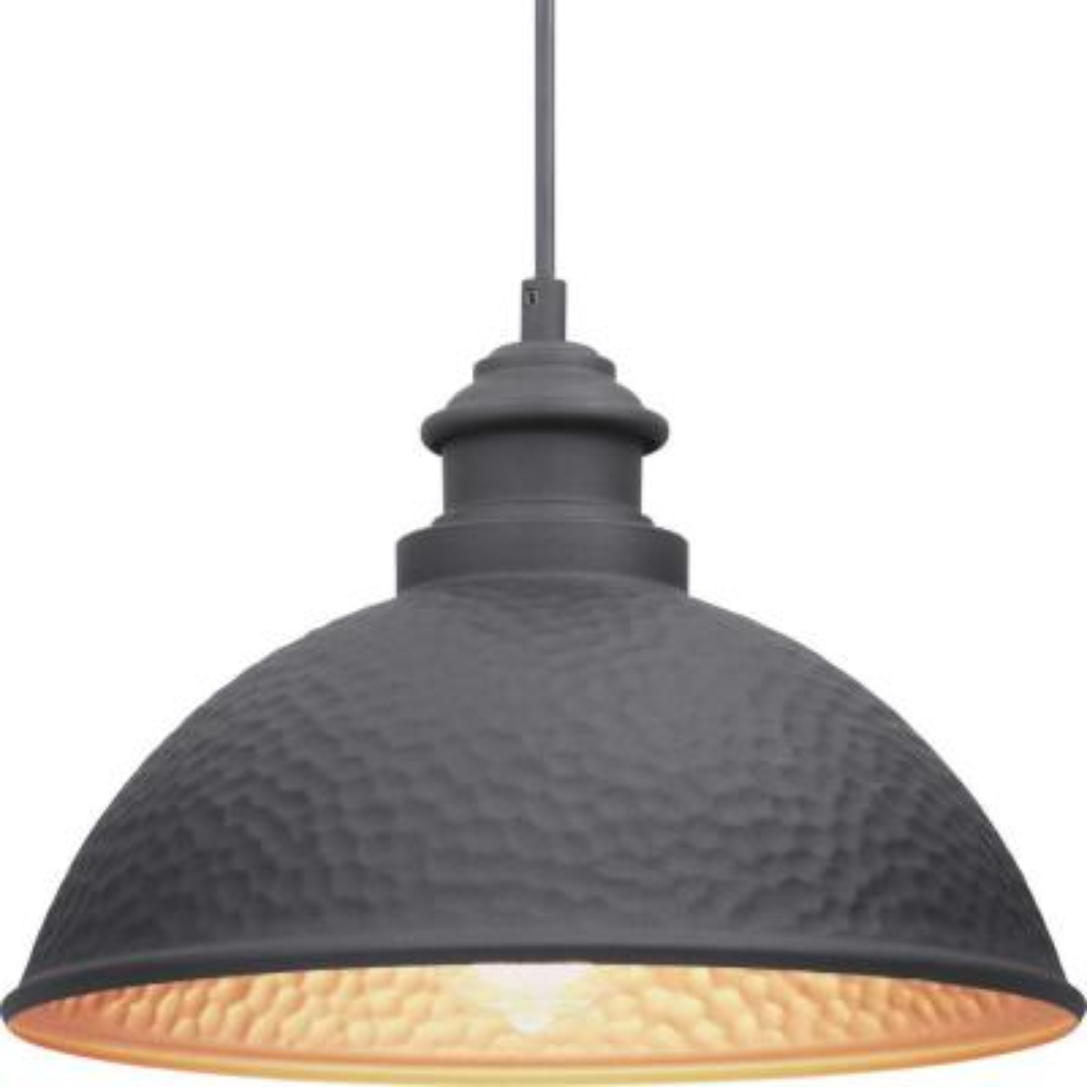 Englewood Collection 1-Light Black Hanging Lantern