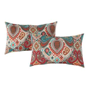 Asbury Park Outdoor Lumbar Throw Pillow (2-Pack)