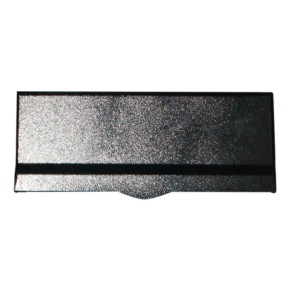 QualArc Liberty Wall Mount Non Locking Mail Flap Slot, Black