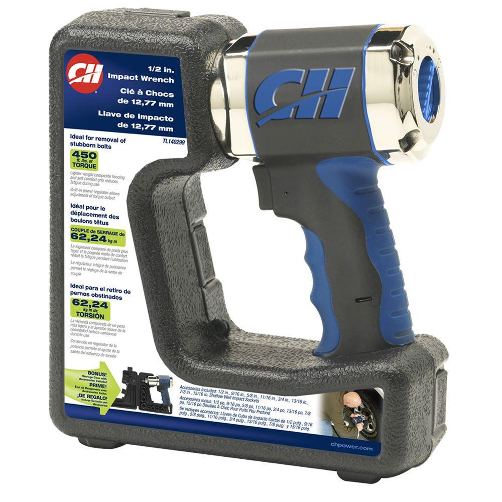 Campbell Hausfeld 1/2 in. Composite Impact Wrench