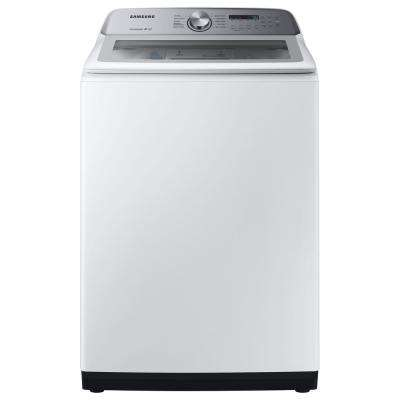5 0 cu  ft  Hi-Efficiency White Top Load Washing Machine with Active Water  Jet, ENERGY STAR