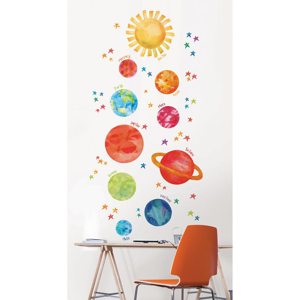 Wallpops Multi-Color Our Galaxy Wall Decal, Multi Color