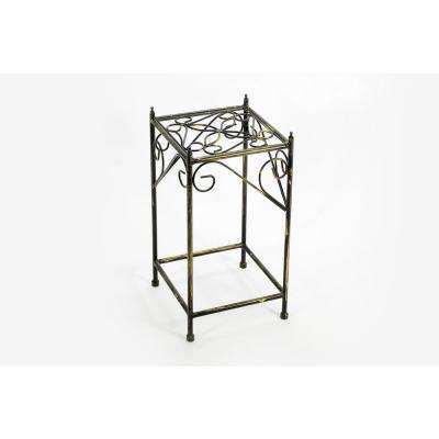 Cast Iron Medium Lattice Square Plan Stand