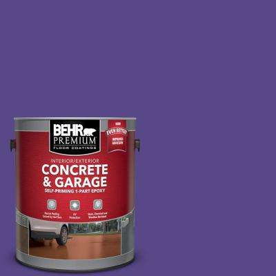 1 gal. #P560-7 Kings Court Self-Priming 1-Part Epoxy Satin Interior/Exterior Concrete and Garage Floor Paint