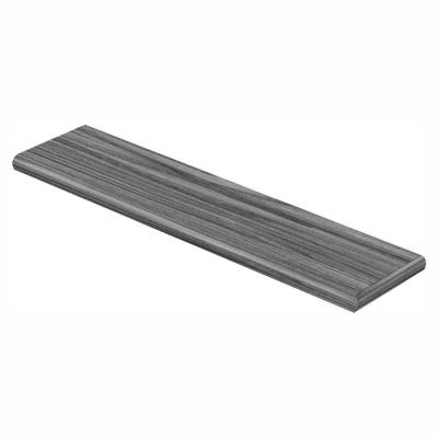 Parks Rapid Oak Oak 47 in. L x 12-1/8 in. W x 1-11/16 in. T Laminate Right Return for Stairs 1 in. T
