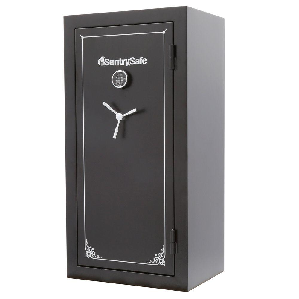 SentrySafe 14.72 cu. ft. 26-Gun Capacity Fire Resistant Gun Safe-GT5926E - The Home Depot