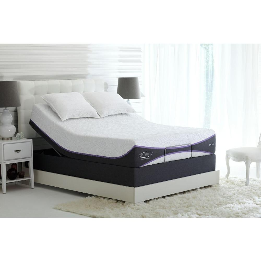 sealy posturepedic reflexion adjustable california king box spring shop your way online. Black Bedroom Furniture Sets. Home Design Ideas