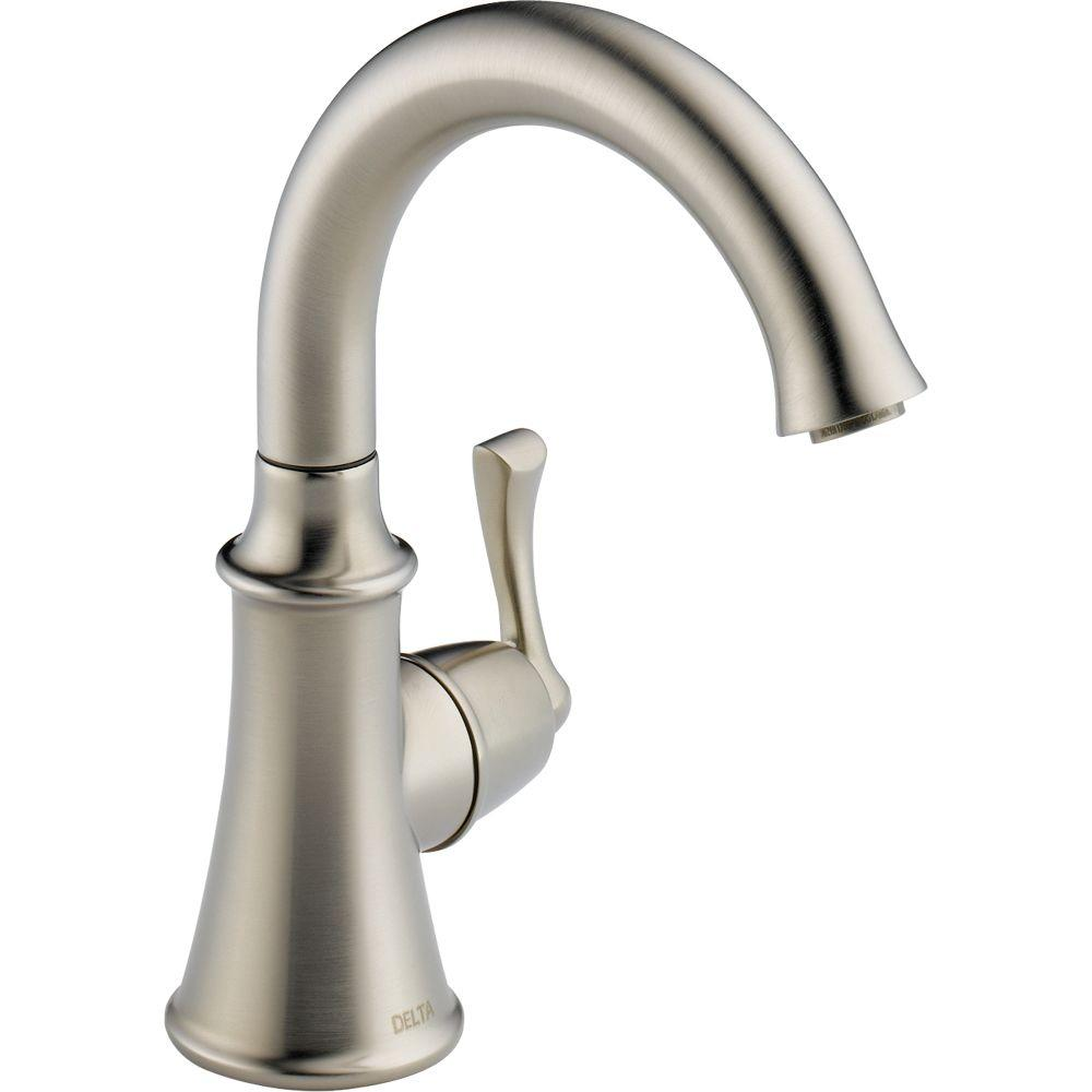Delta Traditional Single-Handle Water Dispenser Faucet in Stainless ...
