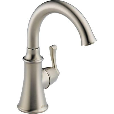 Traditional Single-Handle Water Dispenser Faucet in Stainless