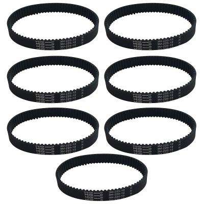 7-Pack Replacement 10 mm Vacuum Belts, Fits Dyson DC17, Compatible with Part 911710-01