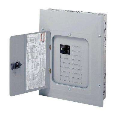 100 Amp 12-Space 20-Circuit Type BR Indoor Main Breaker Load Center