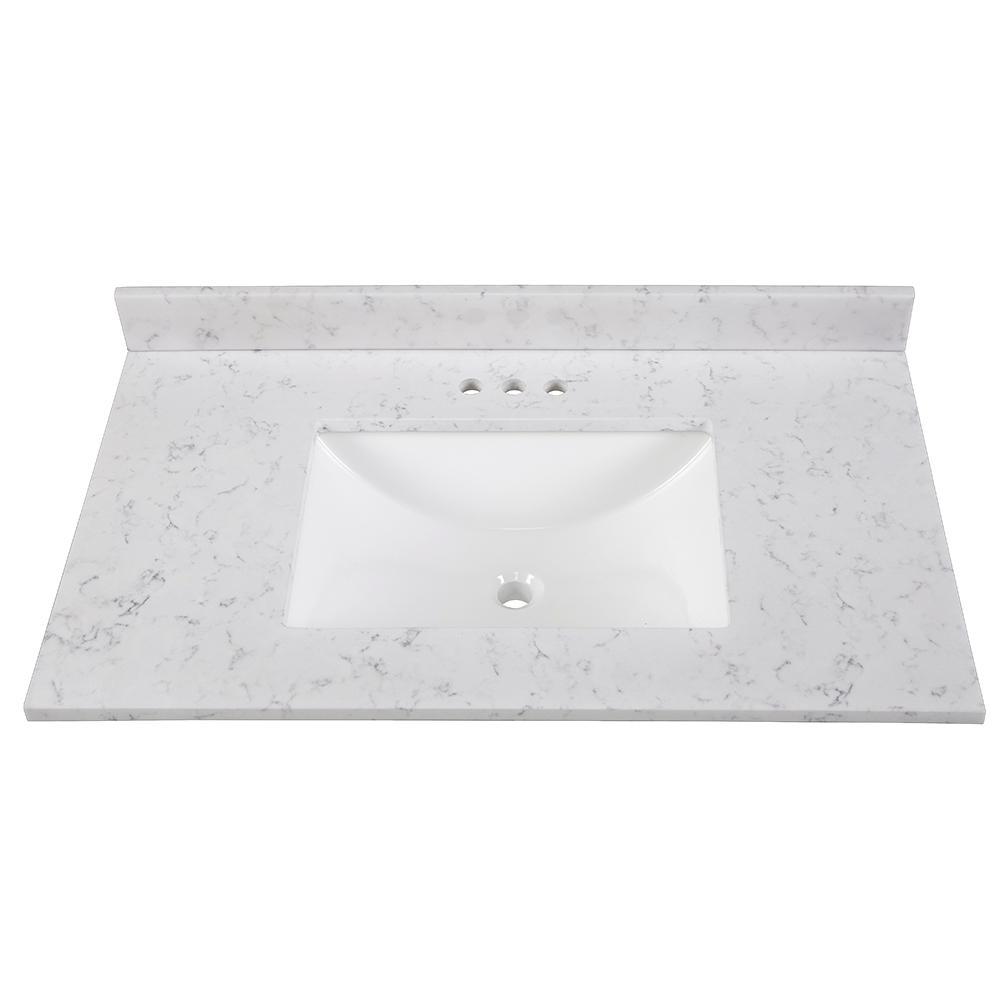 37 inch vanity top