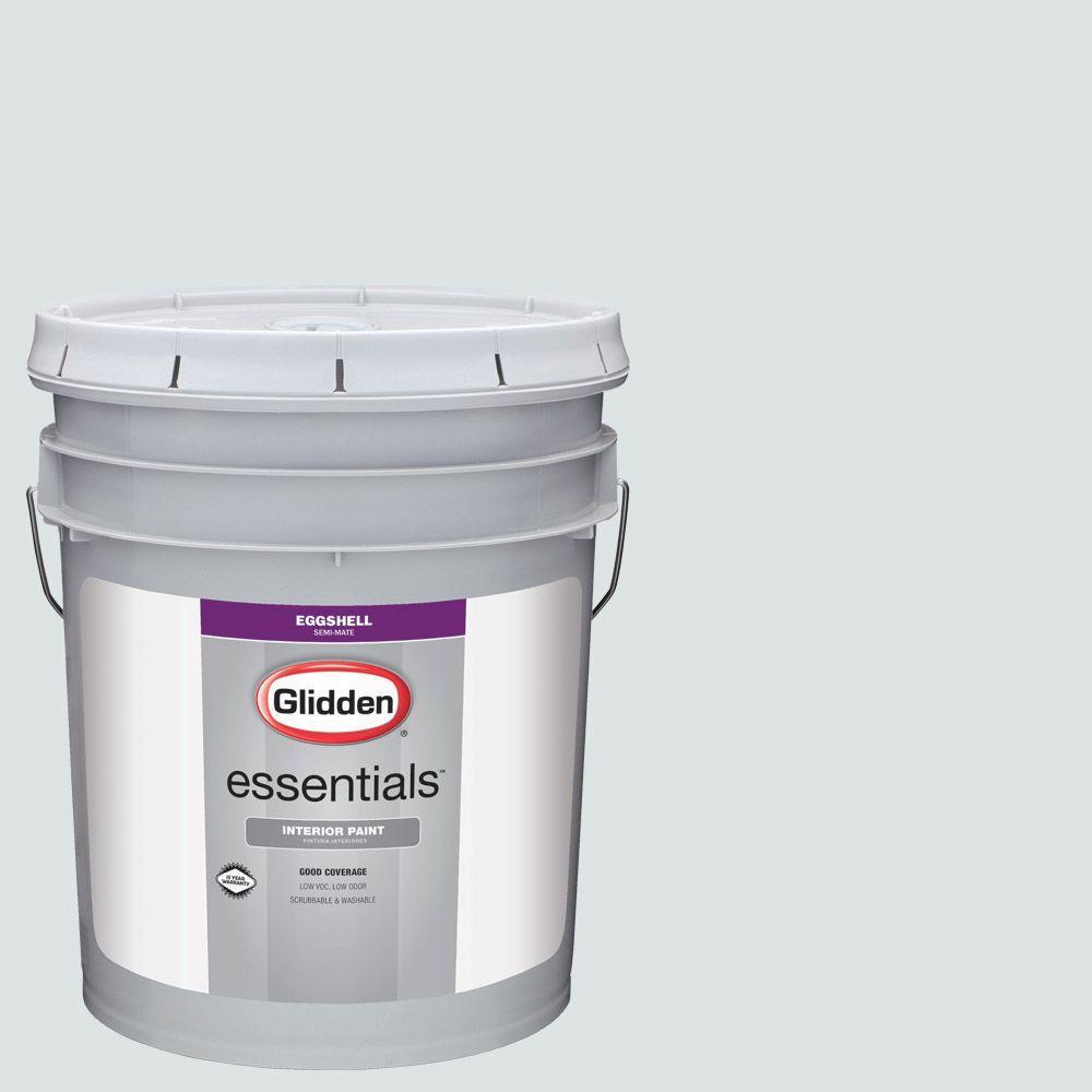 5 gal. #HDGCN30U Silver Streak Eggshell Interior Paint