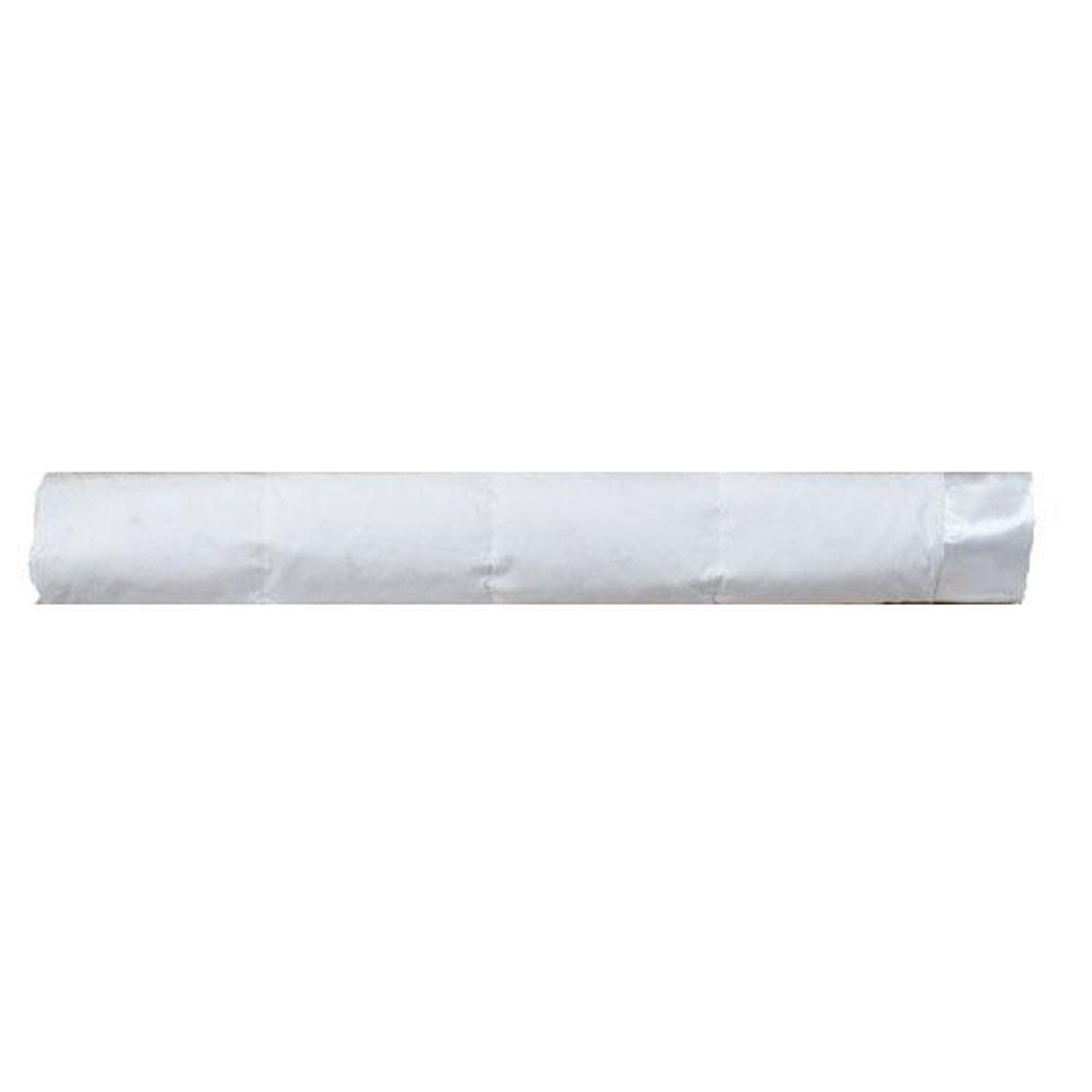 Home Decorators Collection Down 90 in. W White Twin Cotton Blanket