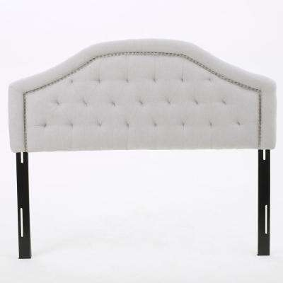 Killian Light Grey Fabric Queen/Full Headboard