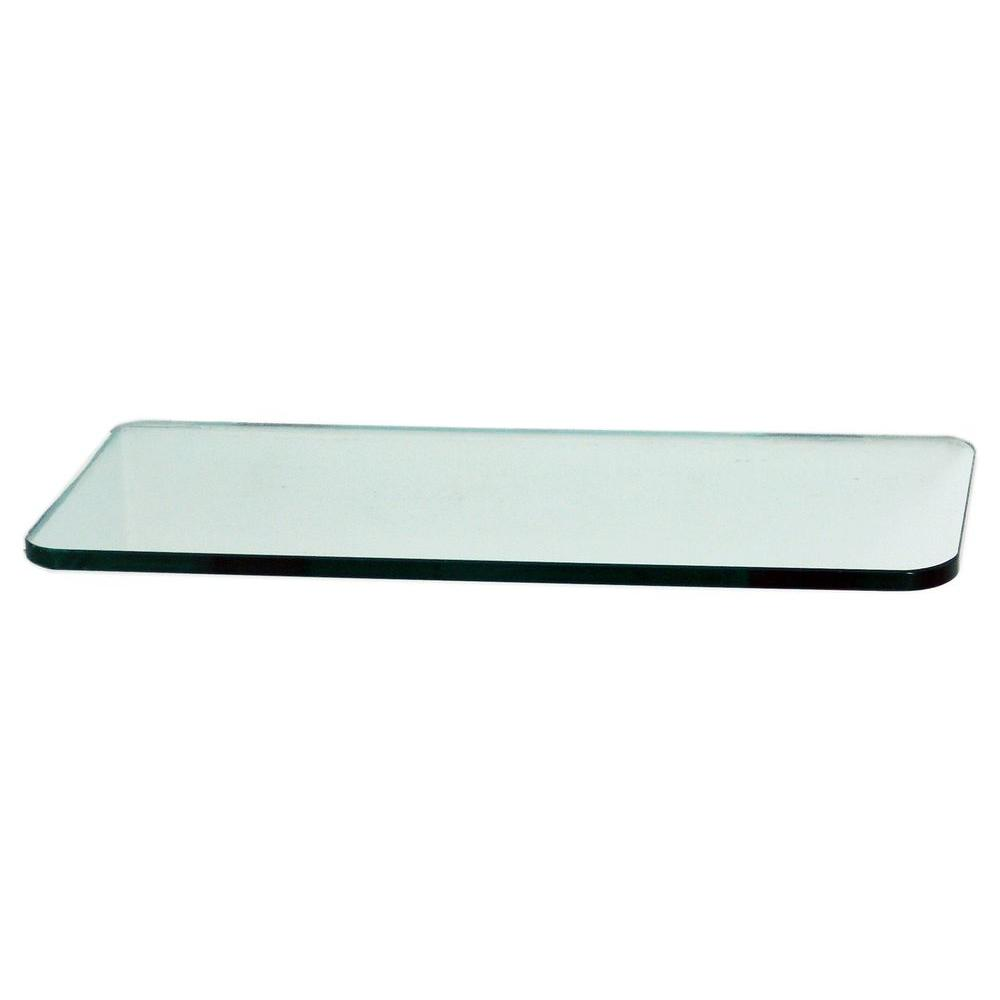 floating glass shelves 3 8 in rectangle glass corner shelf price rh homedepot com floating glass shelves walmart floating glass shelves bathroom